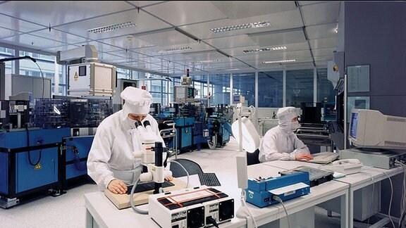 Kontrollstation Infineon Dresden