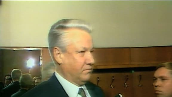 Präseident Jelzin