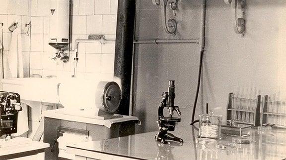 Labor im Kreiskrankenhaus Mühlhausen