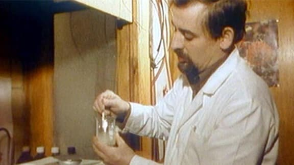 Arzt im Labor