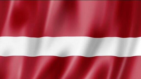 Flagge von Lettland.