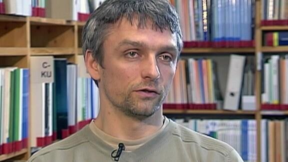 Umweltaktivist Roland Quester