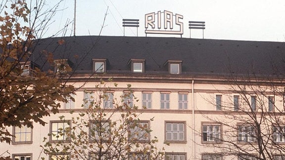 Rundfunksender RIAS in Berlin