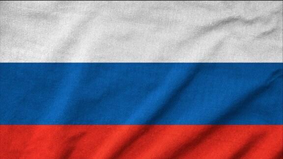 Flagge von Russland.