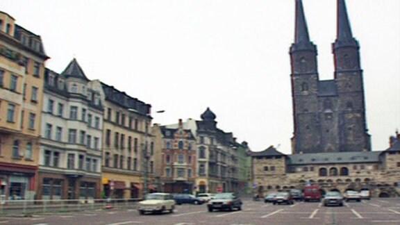 Hallmarkt in Halle