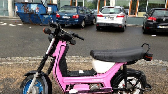 Simson Roller SR 50 in Pink.