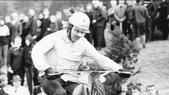 Paul Friedrichs, dreifacher Motocross-Weltmeister von 1966 bis 1968