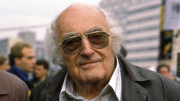 Schriftsteller Stefan Heym (1984)