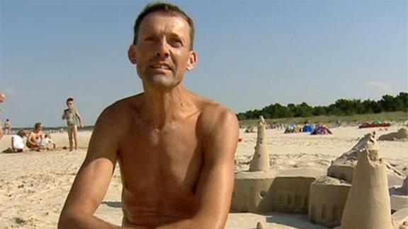 Nackte Tatsachen für polnische Strandläufer.