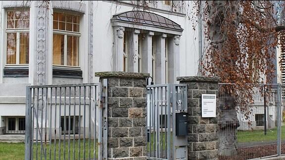 Das Leipziger Literaturinstitut in der Wächterstraße