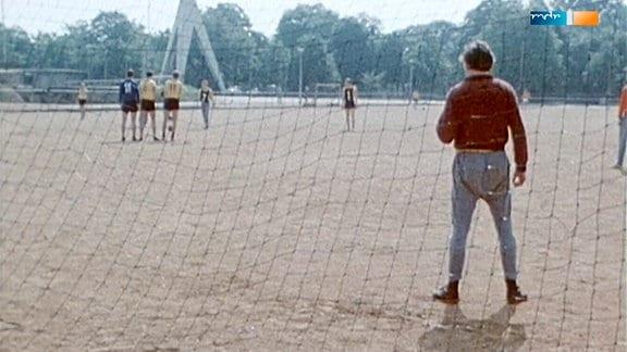 Training bei Dynamo Dresden