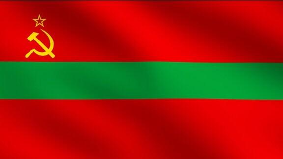 Flagge von Transnistrien