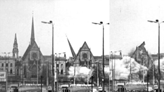 Sprengung der Paulinerkirche
