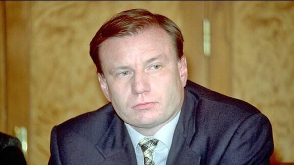 Vladimir Potanin (Präsident Oneximbank) in Moskau (2002)