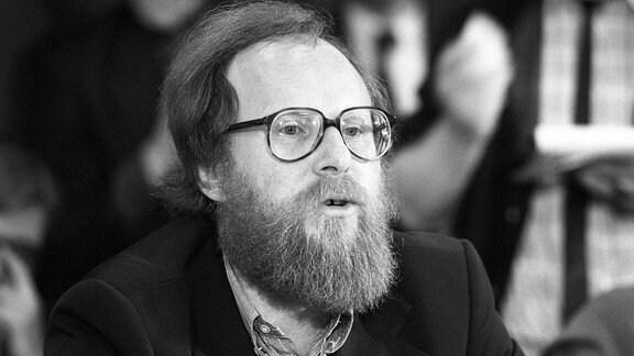 Portrait von SPD-Politiker Wolfgang Thierse