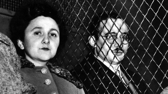 EIn Porträt von Ethel und Julius Rosenberg