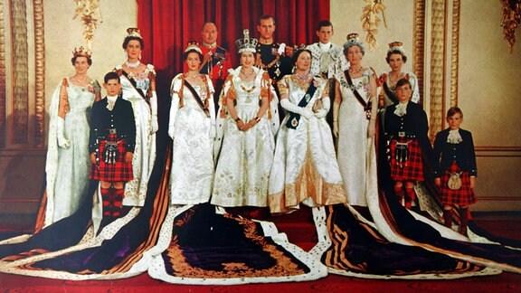 Krönung Elisabeth II. im Jahr 1953