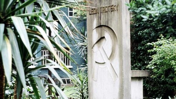Grab von Leon Trotsky