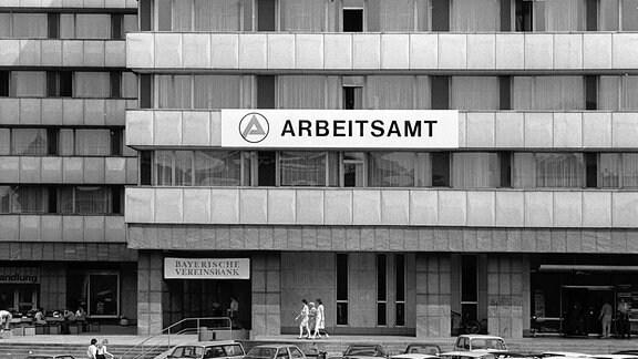 Arbeitsamt Chemnitz 01.08.1990, DDR, Chemnitz