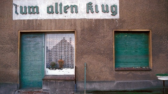 Kneipe -Zum Alten Krug- ist geschlossen.