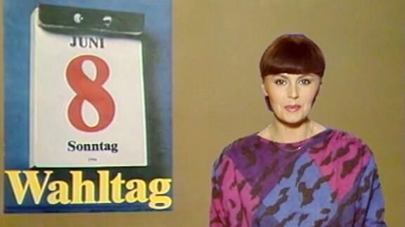 Angelika Unterlauf in der Aktuellen Kamera
