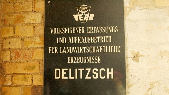 VEB-Schild