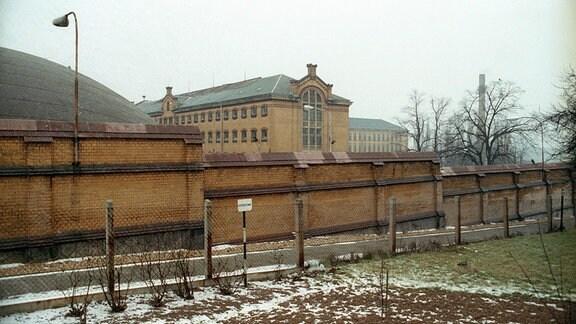 Außenansicht Zuchthaus Bautzen I.